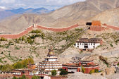 Ancient lamasery in Tibet — Stock Photo