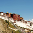 Landmark of the famous Potala Palace in Lhasa Tibet — Stock Photo #10581162