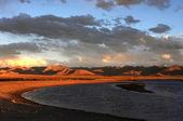 Landscape at lakeside — Stock Photo