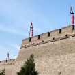 Stock Photo: Historic city wall of Xian, China