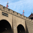 City wall of Xian — Stock Photo