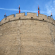 Historic city wall of Xian, China — Stock Photo #10597120
