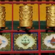 Tibetan prayer wheels -  
