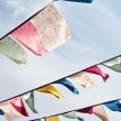 Tibetan prayer flags - Foto Stock