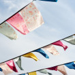 Tibetan prayer flags -  