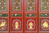Chinese ancient doors — Stock Photo