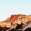 Landmark of the famous Potala Palace in Lhasa Tibet — Stock Photo #10641108
