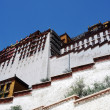 Landmark of the famous Potala Palace in Lhasa Tibet - Stock Photo
