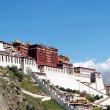 Landmark of the famous Potala Palace in Lhasa Tibet — Stock Photo