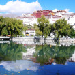 Landmark of the famous Potala Palace in Lhasa Tibet — Stock Photo