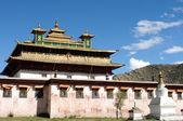 Tibetská lamasery — Stock fotografie