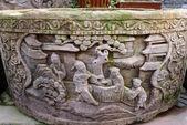 Chinese ancient rock art — Stock Photo