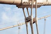 Câble d'acier de structure — Photo