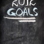 2012 New year goals — Stock Photo #8145073