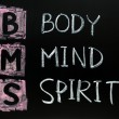 Body,mind and spirit concept — Stock Photo #8487441