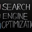Stock Photo: SEO acronym - Search engine optimization