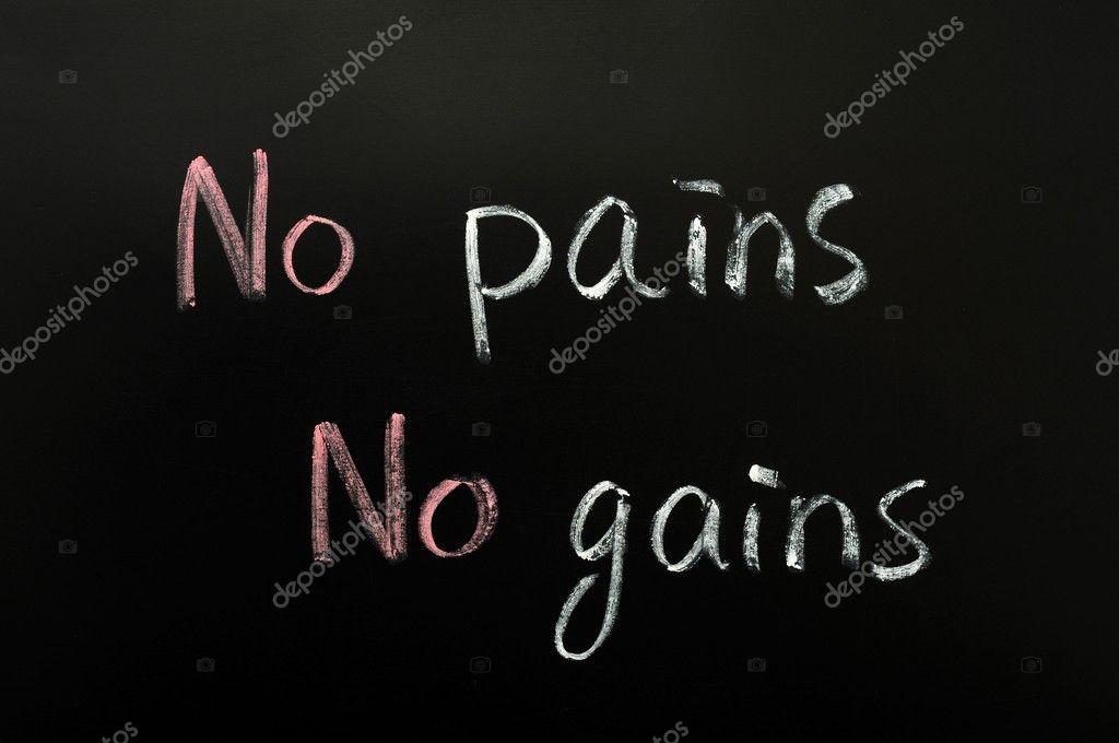 essay writing on no pain no gain