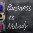 Acronym of B2N - Business to Nobody — Stock Photo #9060571
