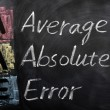 Acronym of AAE for Average Absolute Error — Stock Photo