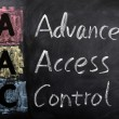 Stock Photo: Acronym of AAC for Advanced Access Control