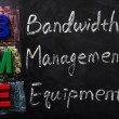 Acronym of BME for Bandwidth Management Equipment — Stock Photo