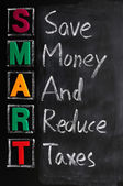 Acronym of SMART — Stock Photo
