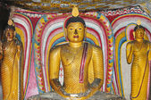 Historic buddha statues — Stock Photo