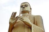 Historische riesigen buddha-statue — Stockfoto