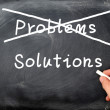 Problems and solutions — Stock Photo #9691672