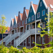Apartment houses in the Netherlands — Stock Photo