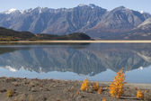 Kluane lake — Stockfoto