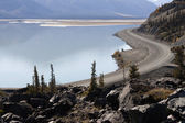 Kluane Lake — Stock Photo