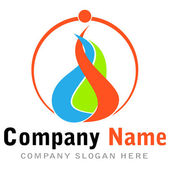 Logo business — Stock Vector