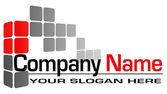 Logo building — Stock Vector