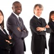 Multi-ethnic team — Stock Photo #8027157