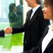 Royalty-Free Stock Photo: Working team shaking hands