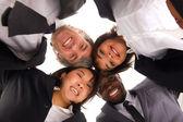 Multietniska team — Stockfoto