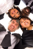 Multi-ethnic team — Stock Photo