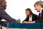 Reunión de trabajo — Foto de Stock