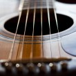 Stock Photo: Guitar details