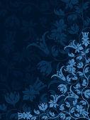 Dekorativní květinový vzor — Stock vektor