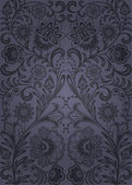 Decorative seamless pattern — Stok Vektör
