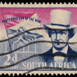 Stock Photo: South AfricPostage Stamp Andries Pretorius Reaffirmation of Vo
