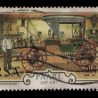 South Africa Postage Stamp Wagon Makers 1987 — Foto Stock