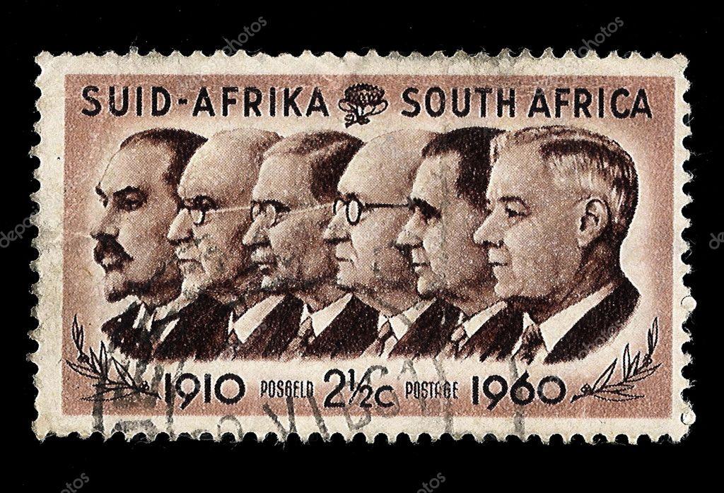 (原创)南非人物邮票3:历任总统1 - 六一儿童 - 译海拾蚌