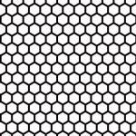 czarny siatki — Zdjęcie stockowe