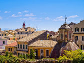 Corfu town — Stock Photo