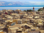 Roofs of Corfu — Stock Photo