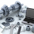 Stock Photo: Mechanical Engineering