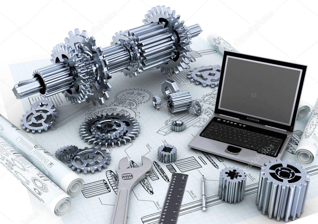 Mechanical engineering stock photos